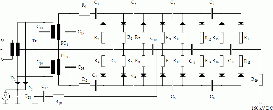 dc voltage doubler circuit diagram – the wiring diagram, Wiring circuit