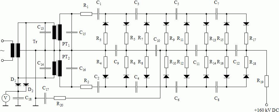 High voltage on circuit diagram voltage multiplier Unit Circle Diagram Flash Memory Circuit Diagram