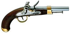 AN XIII Flintlock Pistol