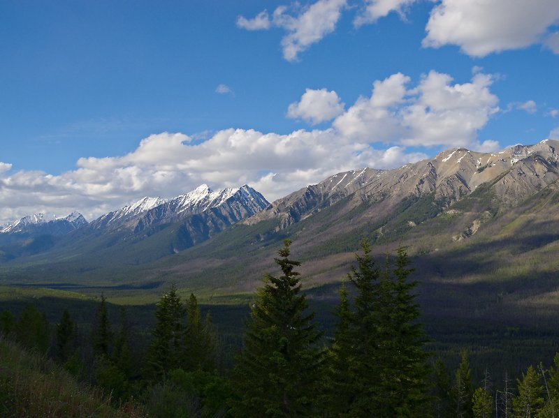 mountains kootenay national park - photo #17